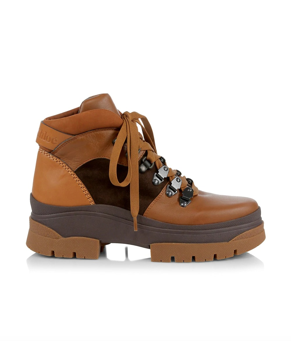 Auré Leather Hiking Boots