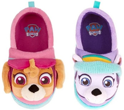Nickelodeon Paw Patrol Skye And Everest Slippers