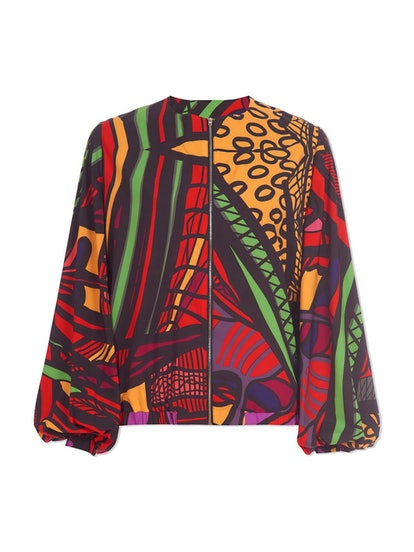Dipo Print Bomber Jacket