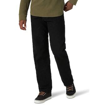 Wrangler Men's Fleece-Lined Jeans