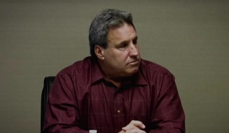 Tim Matouk on Unsolved Mysteries via a Netflix screenshot