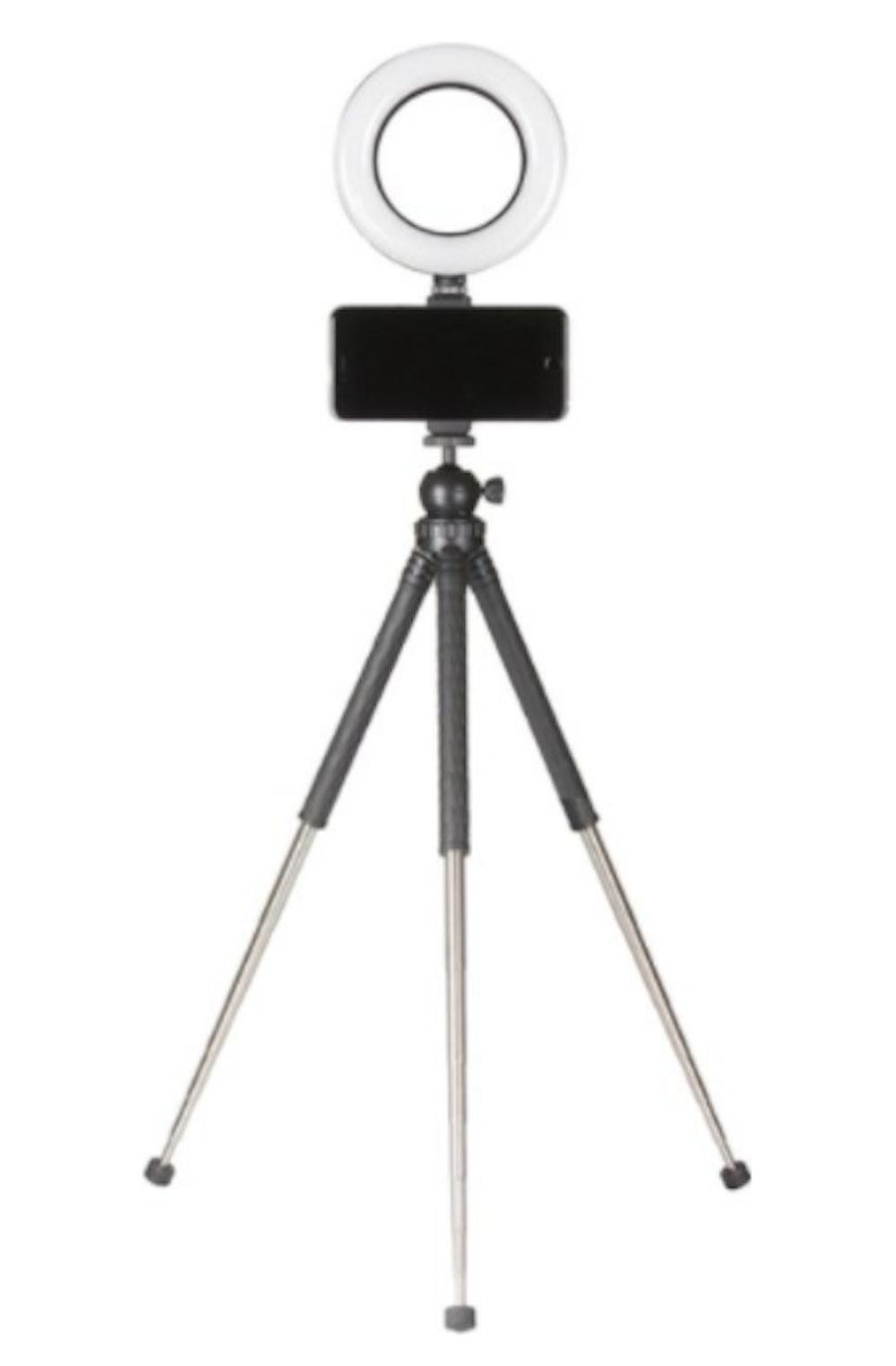 Portable Vlogging Kit for Smartphones - Black