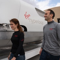 Virgin Hyperloop: First passenger says 'zippy' ride felt like 'science fiction'
