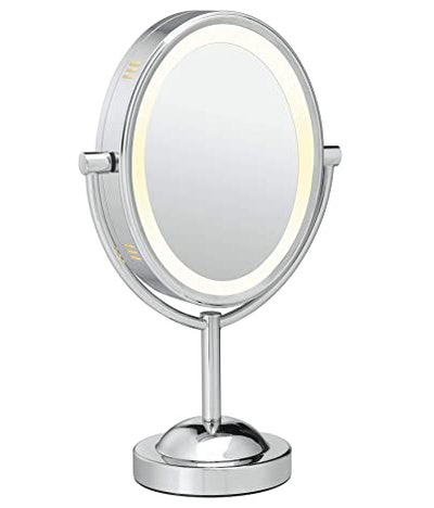 Conair Reflections Double-Sided Lighted Vanity Makeup Mirror