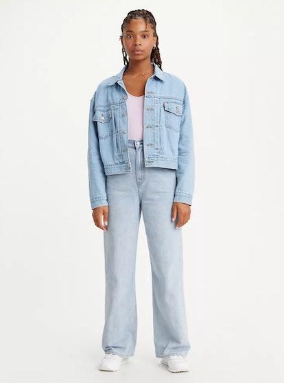 High Loose Cottonized Hemp Jeans
