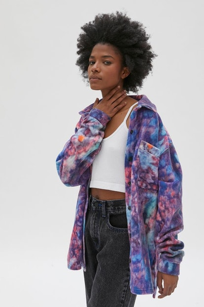 New Girl Order Marbled Fleece Shirt