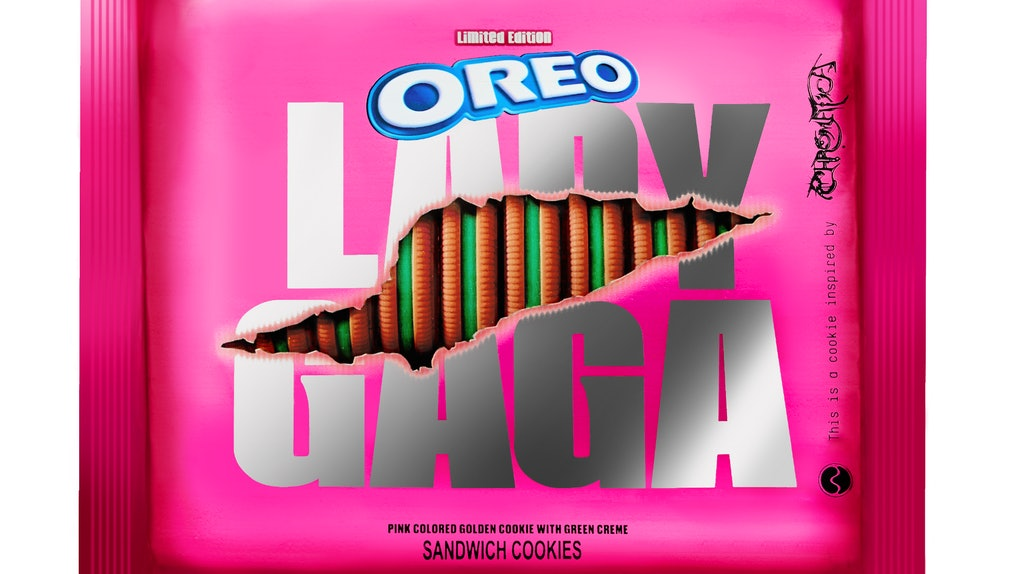 Here's where to buy Lady Gaga themed-Oreo cookies as they roll out to stores on Jan. 28.