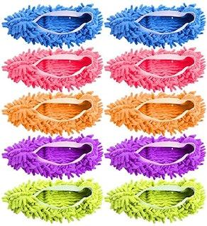Yueiehe Mop Slippers (5-Pairs)