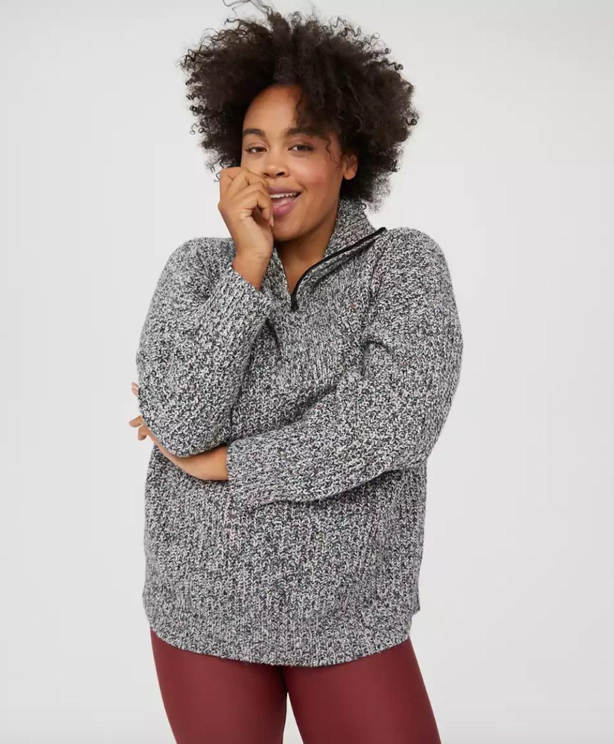 Aerie OFF/LINE Quarter Zip Sweater