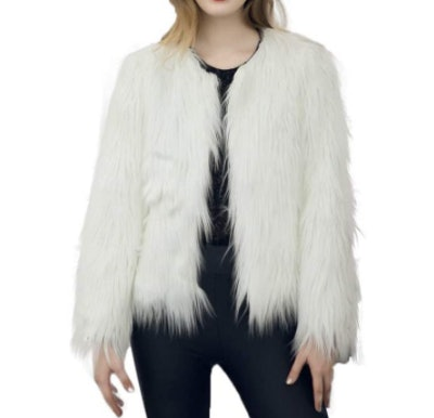 Dikoaina Shaggy Faux Fur Jacket