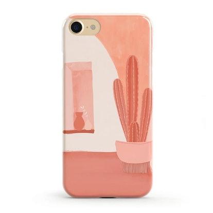 Desert Daze Peachy Cactus Case