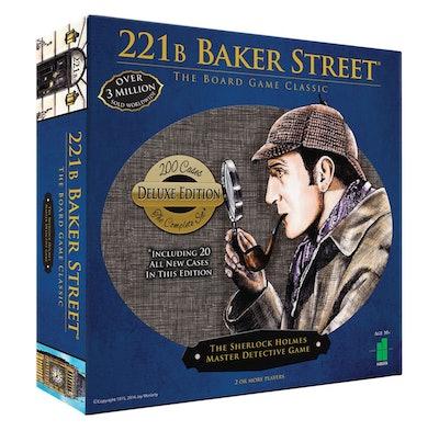 Deluxe 221B Baker Street Board Game
