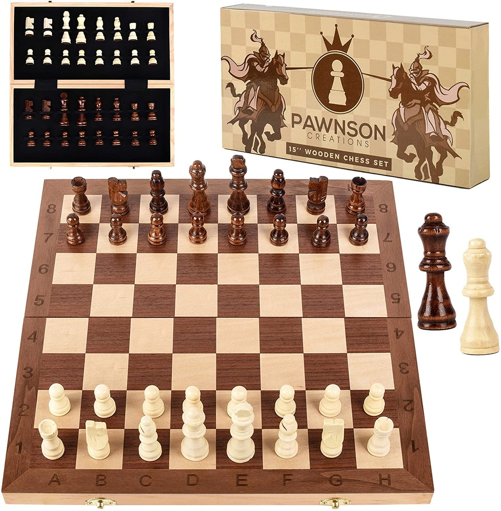 Wooden Beginners Chess Set