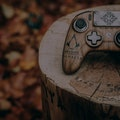 A Nacon Revolution Pro Controller 3 designed for Assassin's Creed Valhalla