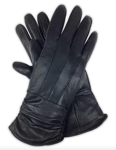 Livativ Genuine Nappa Sheepskin Leather Gloves