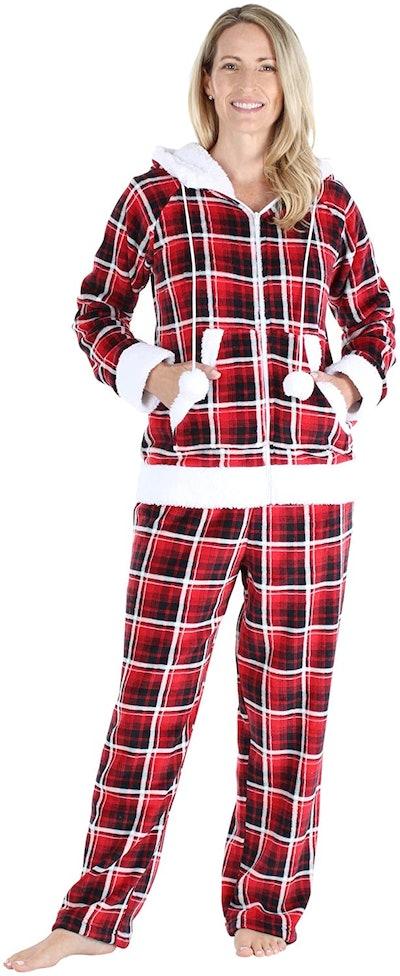 Frankie & Johnny Women's Fleece Pajama Set