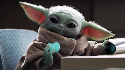 Baby Yoda AKA The Child in 'The Mandalorian.'