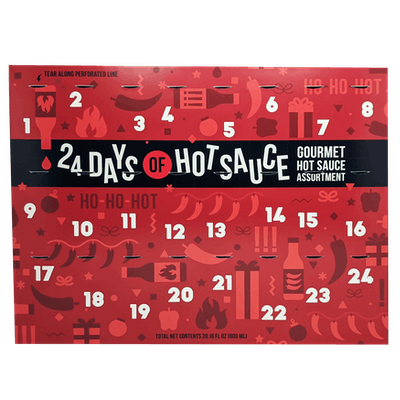 24 Days of Hot Sauce Advent Calendar