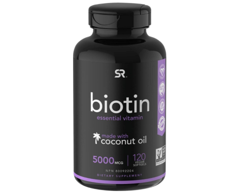 Sports Research Biotin Supplement (120 Count)