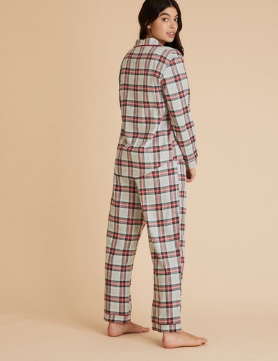 Women's Family Christmas Checked Pyjama Set