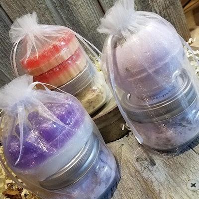 Mini Spa kit/Bath Salts/ Aromatherapy / Eco Friendly / Zero Waste