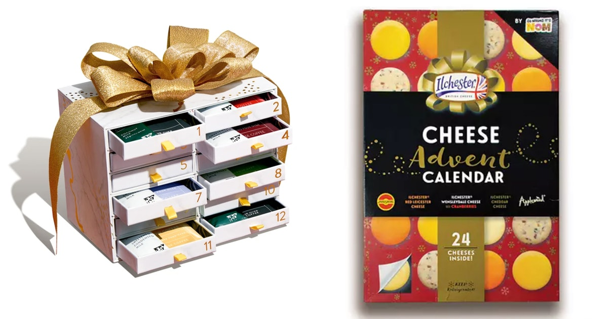 15 Festive Food Advent Calendars For The Holiday Season
