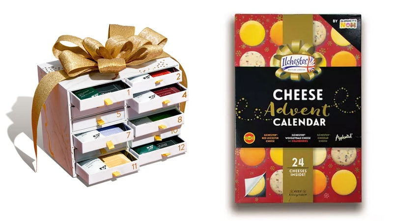 2020 holiday food advent calendars include everything from 24 days of coffee to 12 days of cheese.