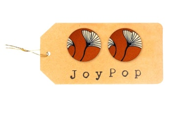 Dandelion Clock earrings