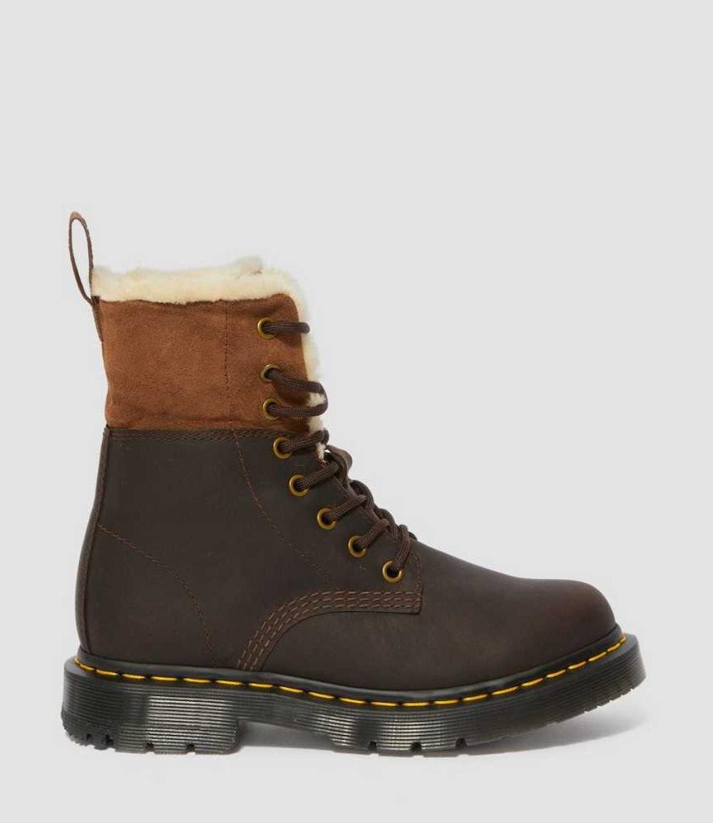 1460 Women's DM's Wintergrip Faux Fur Lined Boots
