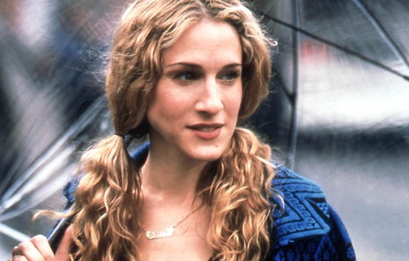Carrie Bradshaw hairstyles and how to recreate them.