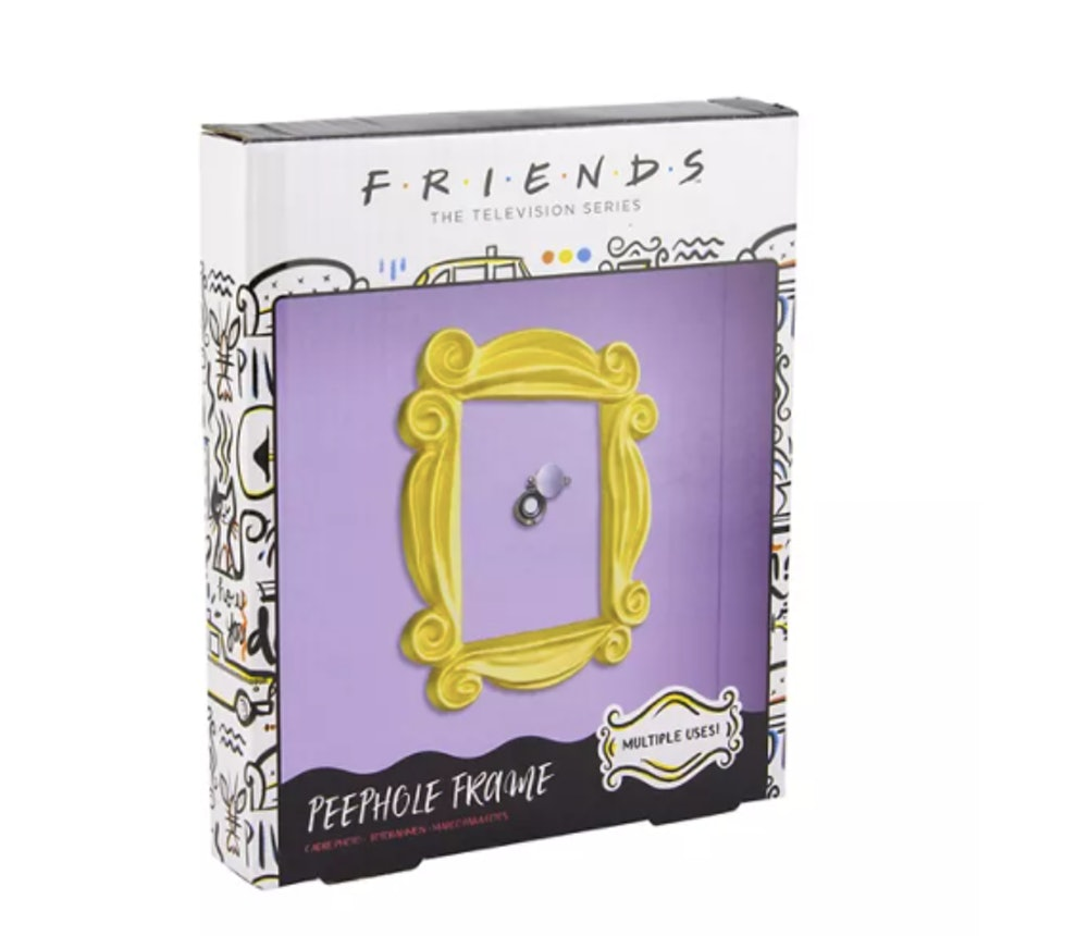 'Friends' Peephole Frame