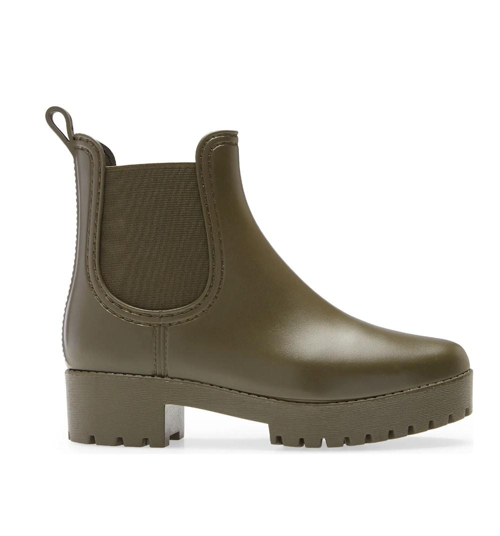 Cloudy Waterproof Chelsea Rain Boot