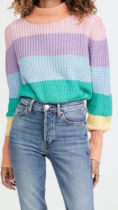 Pastel Multi Color Sweater