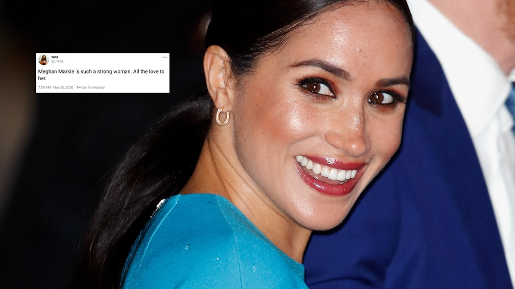 Fans sent love to Meghan Markle on Twitter after her personal essay for the New York Times.