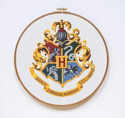 Hogwarts Cross Stitch Pattern