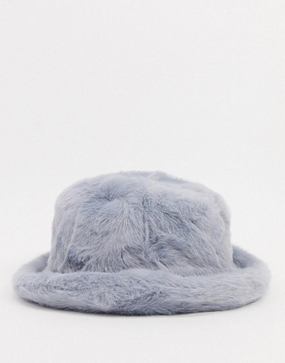 Fluffy Faux Fur Bucket