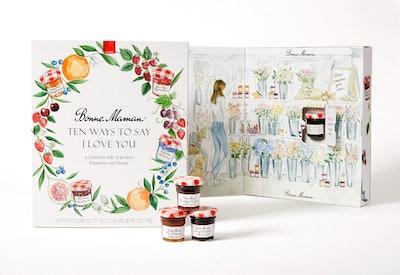 """Ten Ways To Say I Love You"" Fruit Preserves Box"