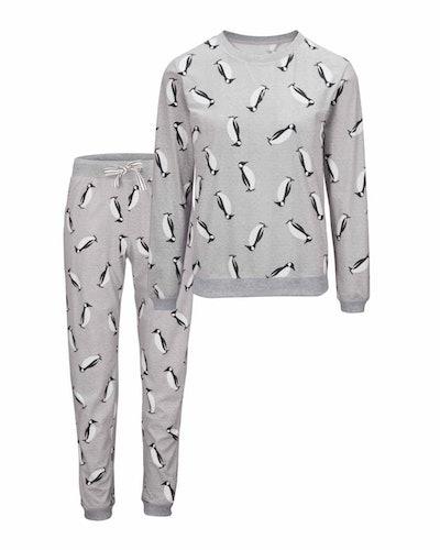 Avenue Ladies' Penguin Cosy Pyjamas
