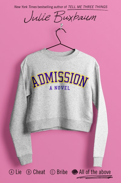 'Admission' by Julie Buxbaum
