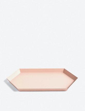 Kaleido medium steel tray