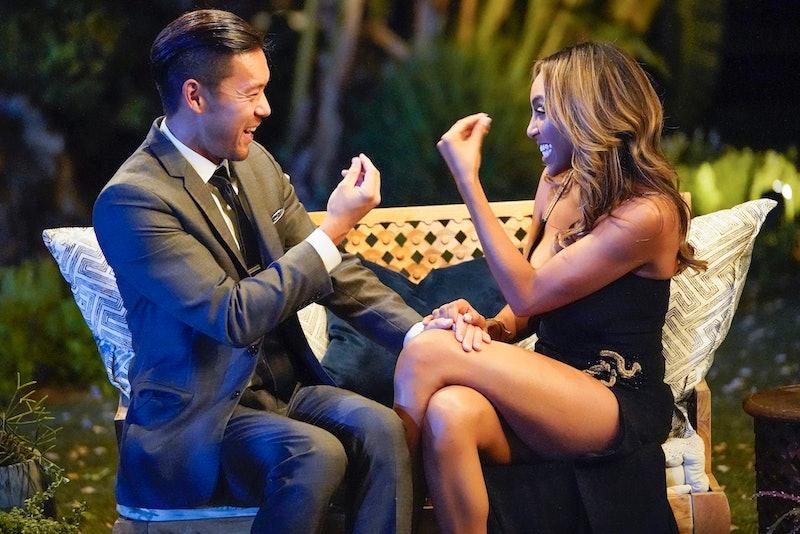 Joe Park and Tayshia Adams on 'The Bachelorette'
