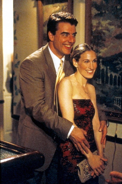 Carrie Bradshaw Hairstyle: Going-Out Bun
