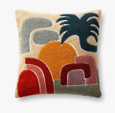 Reef Throw Pillow by Justina Blakeney x Loloi