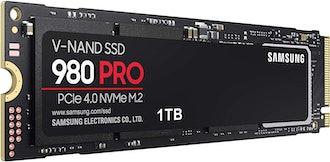 Samsung 980 PRO 1TB PCIe NVMe SSD