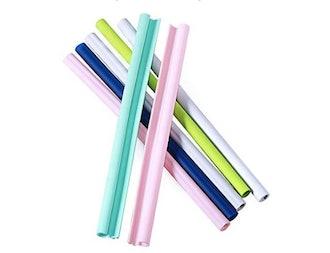 AICXL Reusable Silicone Straws