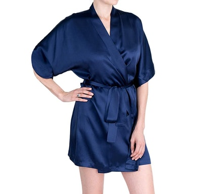 OSCAR ROSSA 100% Silk Robe