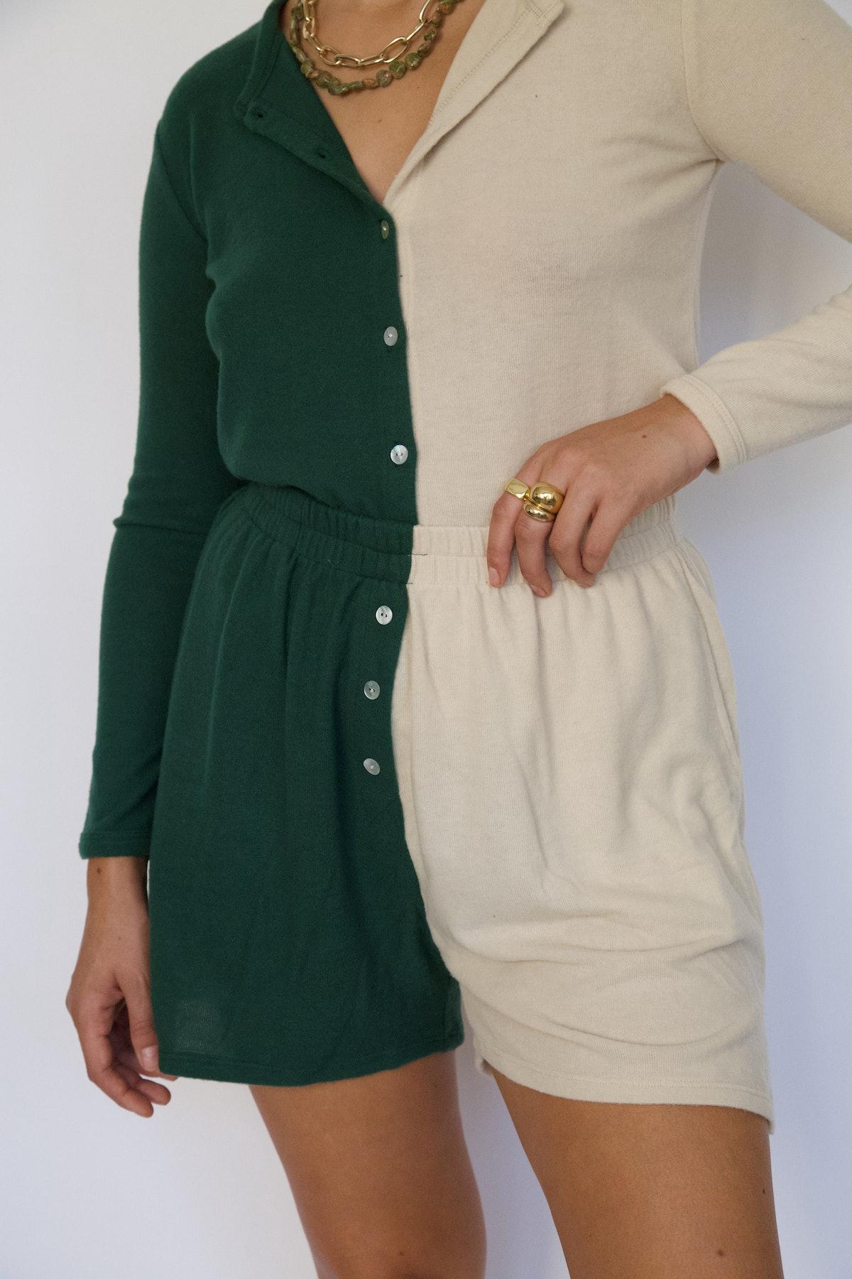 Duo Sweater Henley Short