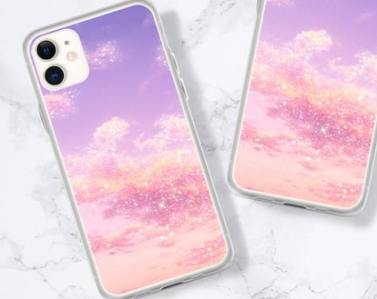 Cloud Pink Phone Case For iPhone 12 Mini