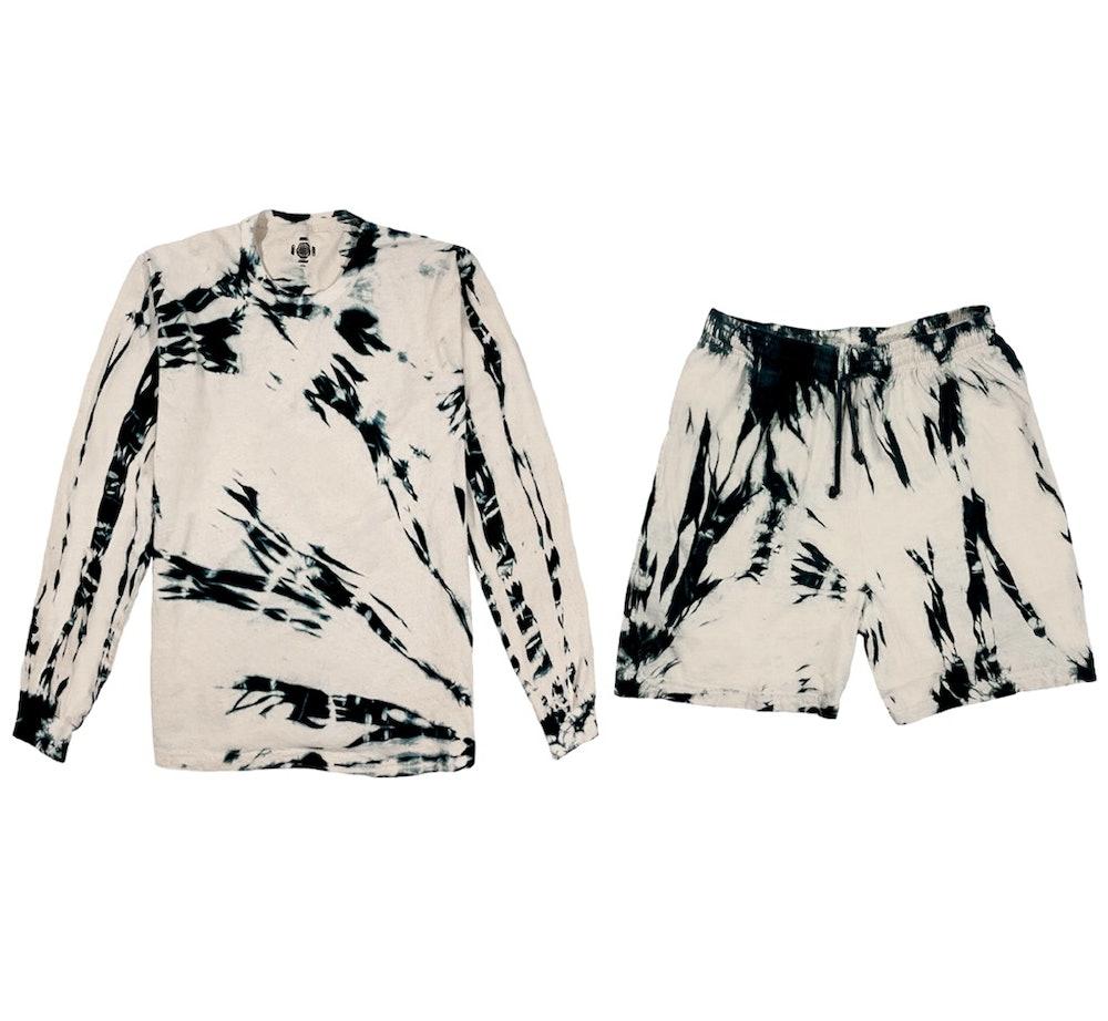 Oatmeal Set (Long Sleeve + Shorts)