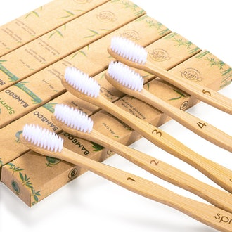 Sprmal Bamboo Toothbrushes (5pcs)